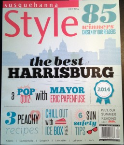 "Susquehanna Style awards ""Best of Harrisburg"" Veterinary Clinic to Good Hope Animal Hospital"